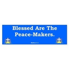 Peace-Makers #2 Bumper Bumper Sticker
