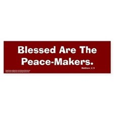 Peace Makers Bumper Bumper Sticker