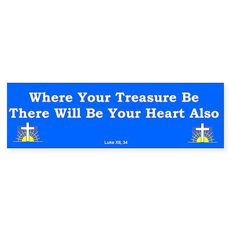 Treasure Be #2 Bumper Sticker