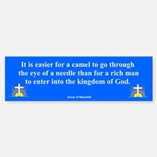 Eye Of The Needle Bumper Bumper Bumper Sticker
