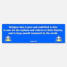 Pure Religion Bumper Bumper Bumper Sticker