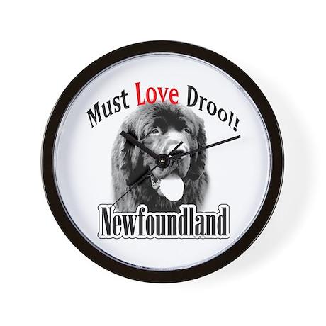 Newfoundland Must Love Wall Clock