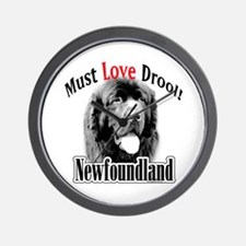 Newfoundland Must Love Wall Clock