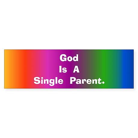 Single Parent Bumper Sticker