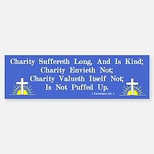 Charity Bumper Car Car Sticker