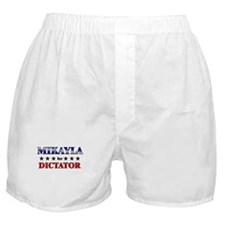 MIKAYLA for dictator Boxer Shorts