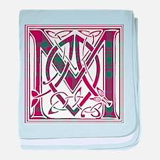 Monogram - MacAlister of Glenbarr baby blanket