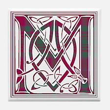 Monogram - MacAlister of Glenbarr Tile Coaster