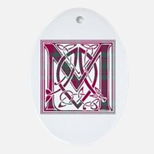Monogram - MacAlister of Glenbarr Ornament (Oval)