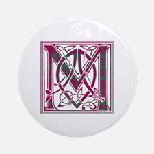 Monogram - MacAlister of Glenbarr Ornament (Round)