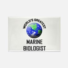 World's Greatest MARINE BIOLOGIST Rectangle Magnet