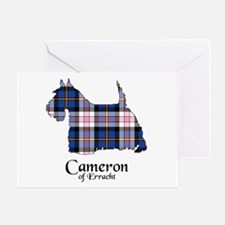 Terrier-Cameron.Erracht dress Greeting Card