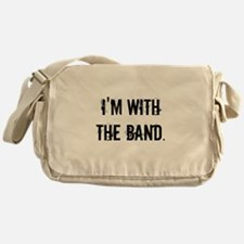 I'm With the Band. Messenger Bag