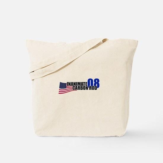 Vote: Inanimate Carbon Rod Tote Bag