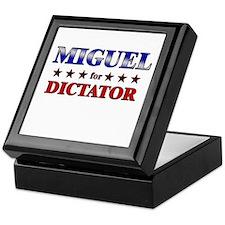 MIGUEL for dictator Keepsake Box