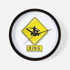 Hurdler XING Wall Clock