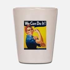 Rosie The Riveter-We Can Do It! Shot Glass
