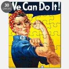 Rosie The Riveter-We Can Do It! Puzzle