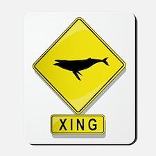 Humpback Whale XING Mousepad