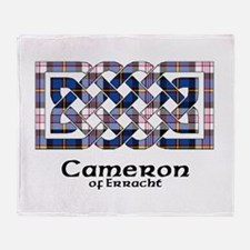 Knot-Cameron.Erracht dress Throw Blanket