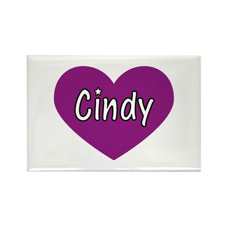 Cindy Rectangle Magnet