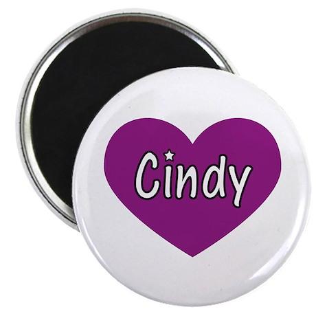 "Cindy 2.25"" Magnet (100 pack)"