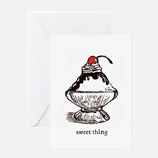 Sweet Thing Greeting Card
