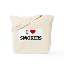 I Love SMOKERS Tote Bag