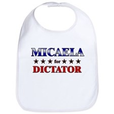MICAELA for dictator Bib