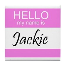 Jackie Tile Coaster