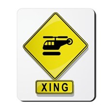 Helicopter XING Mousepad