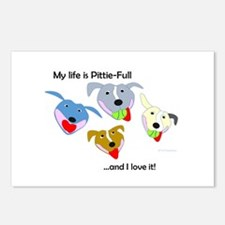Cute Pittie Postcards (Package of 8)