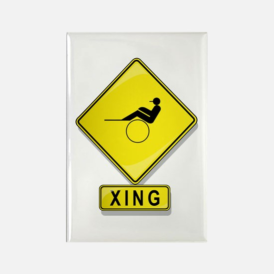Harness Racer XING Rectangle Magnet