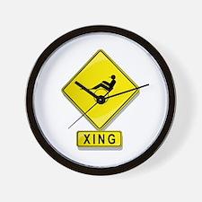 Harness Racer XING Wall Clock