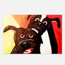 Cool Pittie Postcards (Package of 8)