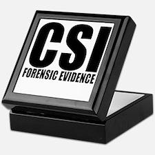 "CSI ""Forensic Evidence"" Keepsake Box"