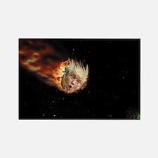 Cute Meteors Rectangle Magnet