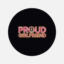 Proud Army Girlfriend Button