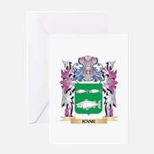 Kane Coat of Arms - Family Crest Greeting Cards