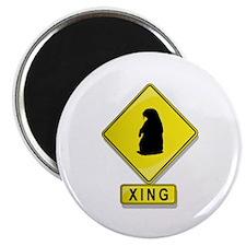 "Groundhog XING 2.25"" Magnet (100 pack)"