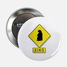 "Groundhog XING 2.25"" Button"