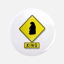 "Groundhog XING 3.5"" Button (100 pack)"