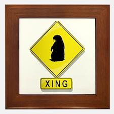 Groundhog XING Framed Tile