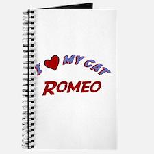 I Love My Cat Romeo Journal