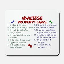 Maltese Property Laws 2 Mousepad