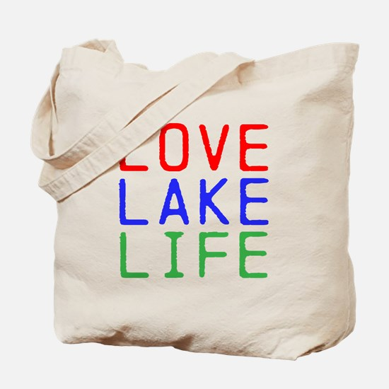 LOVE LAKE LIFE (TW) Tote Bag