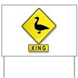 Goose signs Yard Signs