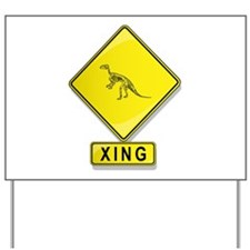 Fossil XING Yard Sign