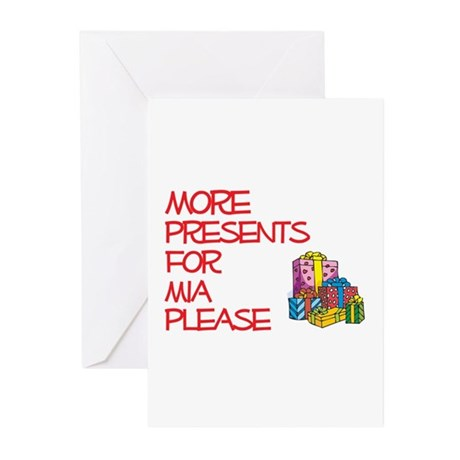 More Presents For Mia Greeting Cards (Pk of 10)