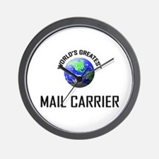 World's Greatest MAIL CARRIER Wall Clock